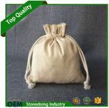 Bolso de lazo de la lona del algodón del paño del precio de fábrica