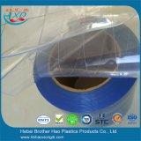 Het maagdelijke Materiële Nylon Gordijn van de Deur van de Strook van pvc van de Draad Lichtblauwe Polaire