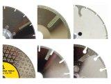 Sierra de diamante galvanizado herramientas de corte de la hoja para la cerámica de mármol