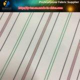 衣服またはスーツのライニング(S55.56)のためのポリエステル縞のLigntカラーライニング