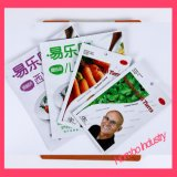 Modificado para requisitos particulares tres bolsos plásticos del acondicionamiento de los alimentos de los bolsos del Borde-Lacre