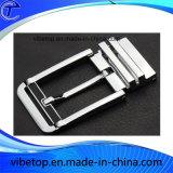 Fivela de cinto de aço inoxidável de metal personalizado (SS-010)