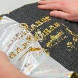 Фольга штемпелюя фольги красивейшей конструкции горячая золотистая для рубашки над тканью пальто