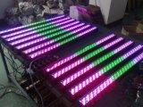 Remote 252PCS RGB LED Wall Washer Light para iluminação de palco