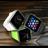 Dm09 Bluetooth Smart Watch 2.5D Arc HD Suporte de tela Dispositivos Wearable do cartão SIM Smartwatch Magic Knob for Ios Android