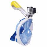 Smaco respirer librement réglable Anti-Fog Silicone Piscine Plongée Masque Tuba