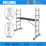 En131アルミニウム多目的足場フレームシステム梯子