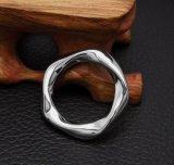 Torcedura de acero Titanium del anillo de la cola de los pares
