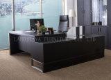 새로운 나무로 되는 가죽 PVC 현대 사무실 책상 (AT032A)