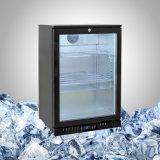 Piccolo portello di vetro del frigorifero della birra