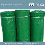 Bâche de protection de toile d'impression de polyester pour la couverture