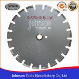 350mmのレーザーによって溶接されたダイヤモンドは一般目的については鋸歯を