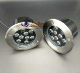 Precio competitivo Uplighter LED 9W de luz LED en IP67 con cubierta de acero inoxidable 304