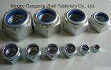 Noix Hex lourdes du blocage DIN985 en nylon avec la pente 5