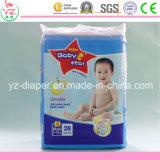 Couche-culotte remplaçable de bébé du bébé L28 de coton organique doux d'étoile