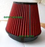 pijp van de Filter van de Lucht van de Auto van de Hoogte 6inch Pu van 140mm de Rode Auto