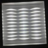 luz del panel de 110lm/W LED con el Ce RoHS del efecto luminoso 3D aprobado