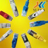 заводская цена 2m 6.5FT Gigabit LAN RJ45 компьютер сетевой кабель Patch кабель Cat5e, CAT6 UTP FTP SFP широкополосного доступа в Интернет по протоколу SFTP оптоволоконный экранирование оптический адаптер