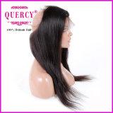Человеческие волосы 22.5 x поставкы фабрики бразильские Silk прямо Frontal 360 шнурков 4 x 2