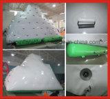 Juguete inflable del agua que flota el iceberg que sube inflable para el parque del agua