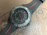 Reloj de lujo de los hombres del deporte del acero inoxidable