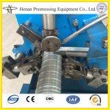 tubo espiral acanalado de la tensión del poste de 40m m a 160 diámetros que hace la máquina