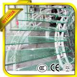 12мм Закаленное слоистое стекло кровельных панелей с завода