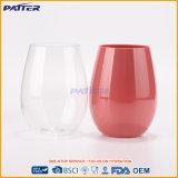 Подгонянная оптовой продажей бутылка воды выпивая чашек цвета пластичная