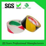 Cinta de advertencia de PVC de marcación de suelo
