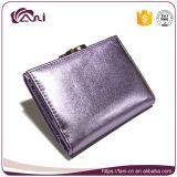 4 бумажника повелительниц цвета ярких, бумажник неподдельной кожи кожи овец малый для женщин