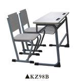 두 배 시트 나무로 되는 제품 학교 책상과 의자 가구 세트