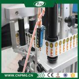 Machine à étiquettes de collant automatique fait sur commande de trois étiquettes