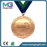 Fabrik-direkter kundenspezifischer Preis-laufendes Marathon-Sport-Zink Aloy Druckguss-weiche Decklack-Medaille