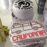 Impresión auta-adhesivo impermeable modificada para requisitos particulares de la etiqueta engomada de la alta calidad de la decoración