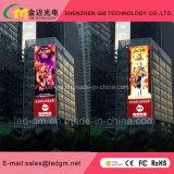 P10 LED de vídeo RGB assinar com visor LED Mensagem de rolagem de tela de LED totalmente a utilização no exterior