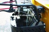 Le chargeur de frontal hydraulique de By400h a suivi la brouette de pouvoir de dumper