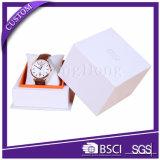 Fabrik kundenspezifischer Firmenzeichen-Luxuxpapieruhr-Kasten mit Kissen