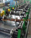 Rullo perforato galvanizzato automatico del vano per cavi che forma la macchina di produzione