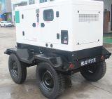 Schlussteil-Typen elektrisches leises Generator-Dieselset mit vier Rädern (15kVA-500kVA) entfernen