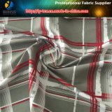 Polyester Sueded Peach Skin Fabric avec transfert d'impression