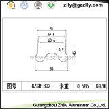 Profils d'extrusion d'aluminium / aluminium pour la décoration du bâtiment