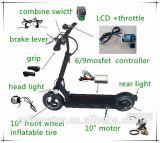 Jb-105-10 '' motor eléctrico sin cepillo trasero de la bicicleta de la rueda 48V 350W