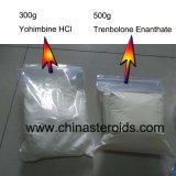 HCl CAS 65-19-0 van Yohimbine van het Poeder van Yohimbine USP Standaard Witte