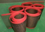 Beständiger nicht Hochtemperaturstock PTFE beschichtete Glasfaser-geöffnetes Ineinander greifen-Förderband