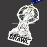Aleación de zinc personalizada campeonatos de lucha por la medalla de deporte