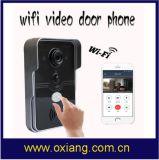 WiFi videowechselsprechanlage-Digital-Türklingel-wasserdichte Nachtsicht-Bewegung, die Tür-Telefon entdeckt