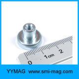قوّيّة إناء مغنطيسات مع خيط سنّ اللولب نيوديميوم فنجان مغنطيسيّة لأنّ عمليّة بيع