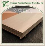 panneau en bois comprimé commercial de la pente E1 du contre-plaqué aa de 1220*2440mm pour des meubles
