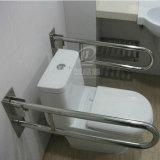 Вверх-Складывая самосхват Bars&Handrails туалета нержавеющей стали 304