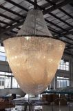 Lâmpada feita sob encomenda de cristal do projeto do candelabro da entrada (KAC0410-3050)